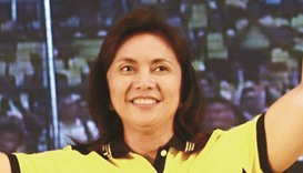 Leni Robredo: wants lawmakers to stay with majority coalition