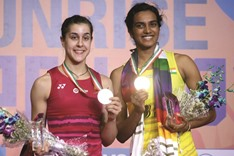 Sindhu conquers Marin to bag first India Open title