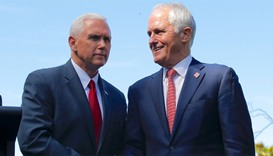 Pence says US will honour refugee deal with Australia
