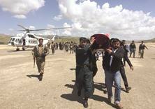 Afghans call for action after Taliban attack