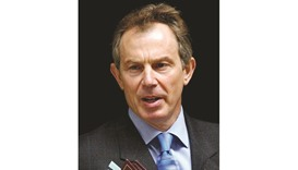 Blair: hints at return to frontline politics.