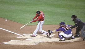 Murphy's grand slam holds up as Nationals sweep Mets