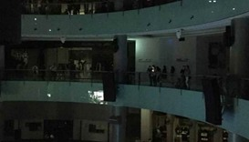 Dubai Mall briefly plunged into darkness by power outage