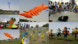 1st International Kite Festival at Aspire Park