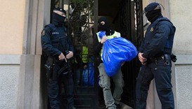 Spain arrests 4 over alleged links to Brussels suspects