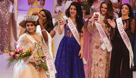 Srishti Kaur of India is crowned Miss Teen Universe in Managua