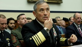The Commander of the US Pacific Command, Admiral Harry Harris, testifies