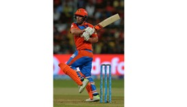 Finch shines as Gujarat rout RCB