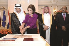 National day reception