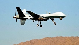 Suspected US drone strike targets Pakistani Taliban militants