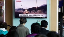 N Korea fires missile, defying US push for new sanctions