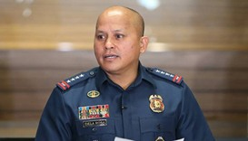 Philippine National Police chief Director General Ronald dela Rosa