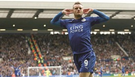 Vardy hauls Leicester to safety