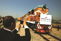 First London-China train completes 12,000km trip