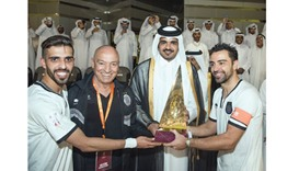 Al Sadd crowned as champions of Qatar Cup
