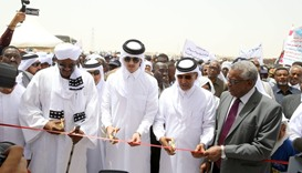 Sheikh Thani hands over school for orphans in Sudan outreach