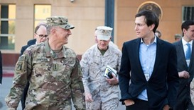 Trump's son-in-law goes to Iraqi base near Mosul