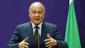 Arab League chief Ahmed Aboul Gheit