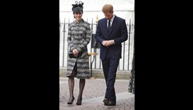 Royals lead 'Service of Hope' after terror attack