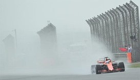 Shanghai mist wipes out first day of grand prix