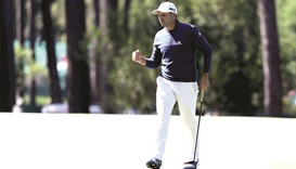 Garcia takes share of Masters lead as Hoffman falters