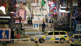 Sympathy for Sweden after attack in Stockholm