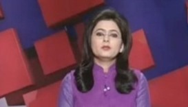 Indian TV news anchor learns of husband's death on air