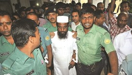 Bangladesh president rejects mercy appeal of HuJI leader