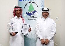 Abdulrahman al-Nasr wins gold in Asian Youth Sailing