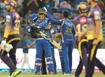 Mumbai script stunning win against Kolkata