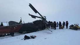 Russian helicopter crash