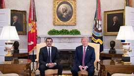 Qatar never a supporter of terrorism, Emir tells Trump