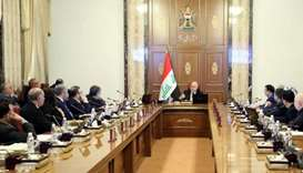 Iraq cabinet approves raising crude oil output capacity