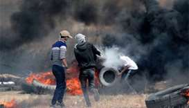 New clashes on Gaza-Israel border after deadly violence
