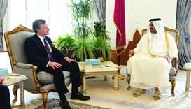 Deputy Emir meets FBI Director
