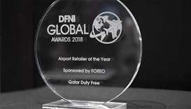 Qatar Duty Free bags 'Airport Retailer of the Year' title at DFNI Global Awards 2018