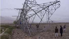Power outage hits Kabul after militants attack pylon