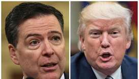 Trump blasts fired FBI director in series of scathing tweets