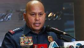 Philippines' outgoing police chief vows drug crackdown will continue