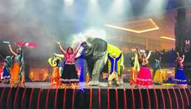 Bollywood dancers take centre stage at Mall of Qatar