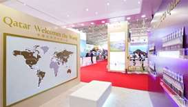 Qatar makes its debut at travel event in Beijing