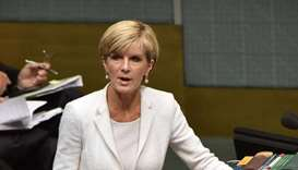 Australia asks China to approve FM visit amid tension