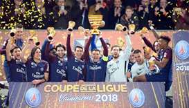 PSG see off Monaco to seal fifth straight League Cup