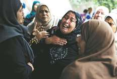 Israeli troops kill four more Palestinians in border protest
