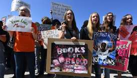 US student anti-gun activists to keep momentum alive over summer