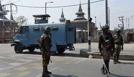 Security clampdown after clashes in Kashmir kill 20
