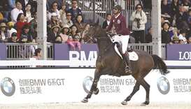 Sheikh Ali rides Carolina to fourth place in Shanghai