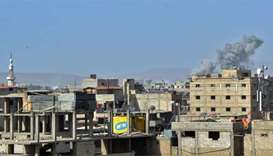 Family dead in Syria regime shelling on IS-held district