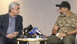 Armenian PM rejects demands to quit as protests continue