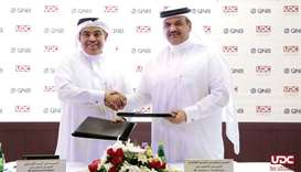 UDC, QNB sign letter of intent to finance Gewan Island project